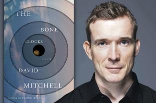 David Mitchell book tour at the Castle Hotel for Taunton Literature Festival 2014