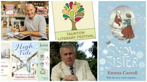 Events at Taunton Literary festival 2015